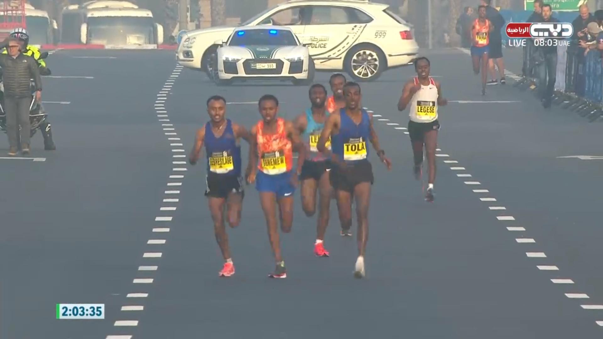 モジネット・ゲレメウとロザ・デレジェが2018ドバイマラソンを制する ...