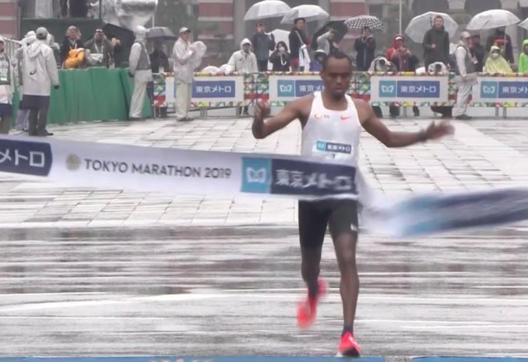 0e1ab05691 東京マラソン2019:エチオピアのビルハヌ・レゲセ(2:04:48)とルティ・アガ(2:20:40)が悪天候にもかかわらず好記録でマラソン初優勝